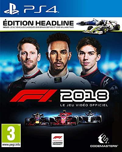F1 2018 - Edition Headline - PlayStation 4 [Importación francesa]