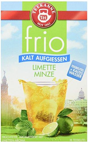 Teekanne frio Limette Minze, 5er Pack (5 x 45 g)