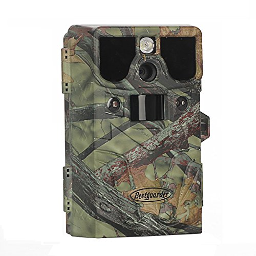 Bestguarder 8 in 1 HD Waterproof IP66 Game & Trail Hunting Scouting Ghost Camera with Game Call...