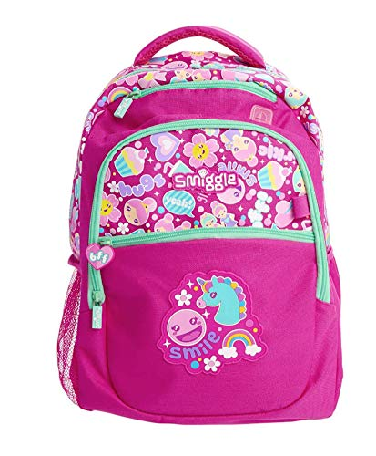 Smiggle Backpack 'Says' Classic Junior (Pink)