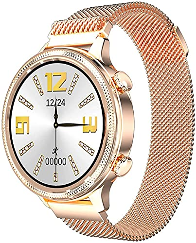 Relojes inteligentes para mujer, rastreadores de salud para monitores de sueño, pulseras de fitness para mujer, monitoreo de salud inteligente recordatorio relojes deportivos-B