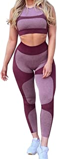 Big promotion TOTOD Womens Workout Leggings Sports Yoga Red Gym Fitness Pants Athletic Clothes
