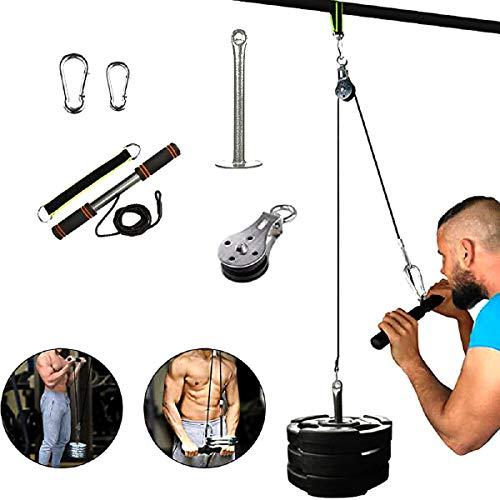 FOOING Unterarm Handgelenk Trainer Armmuskulatur Training Seil Seilzug System Arm Bizeps Trizeps Blaster Hand Festigkeit Trainning Home Gym Workout Ausrüstung