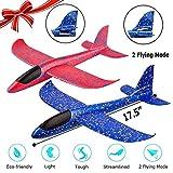Red Color Kids Toys Hand Throw Flying Stunt Plane EPP Foam Aeroplane Model
