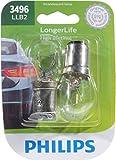 Philips 3496 LongerLife Miniature Bulb, 2 Pack