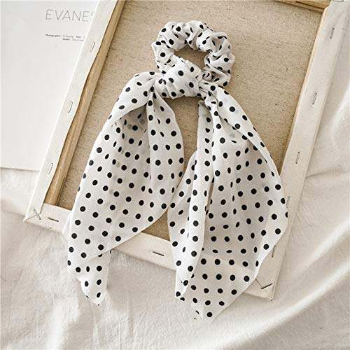 TSEINCE Fashion Dot Long Streamer haarband dames DIY hoofd sieraden elastiek haarband meisjes haaraccessoires