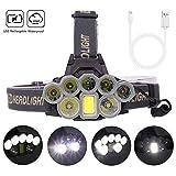 スーパー明るいヘッドライト30000ルーメンUSB充電式狩猟ハイキング釣りズーム多機能屋外照明