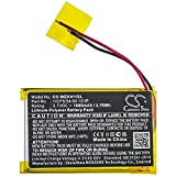 Replacement Battery for Wacom Express Key Remote,ACK411050,fits 1ICP5/34/50 1S1P