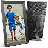 NIX 15 Inch Digital Picture Frame (Non-WiFi) - Portrait or Landscape Stand, Full HD Resolution, Auto-Rotate, Remote Control - Mix Photos and Videos in The Same Slideshow