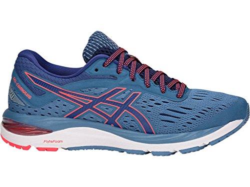 ASICS Women's Gel-Cumulus 20 Running Shoes, 8.5M, Azure/Blue Print