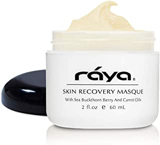 RAYA Skin Recovery Masque (600) | Calming, Multi-Vitamin Facial Treatment Mask for Dry and Dehydrated Skin | Nourishes, Brightens, and Refines Complexion