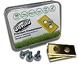 30x Titan Ersatzmesser Klingen Messer kompatibel mit Einhell, Grizzl, Landxcap, Mowox, Mr. Gardena, Worx Landroid, Kress-Zubehör Ersatzklingen