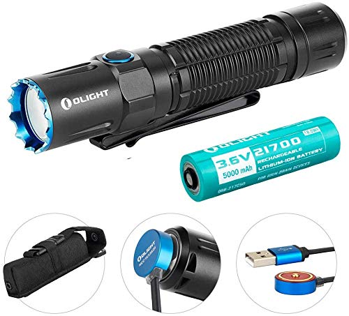 Olight M2R Warrior 1500 lm Rechargeable Tactical DEL Lampe de poche blanc Froid