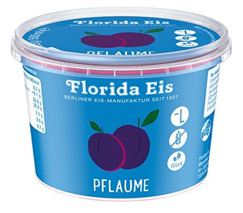 "Eiscreme ""Florida Eis"" Pflaume - Familienpackung - 500ml"