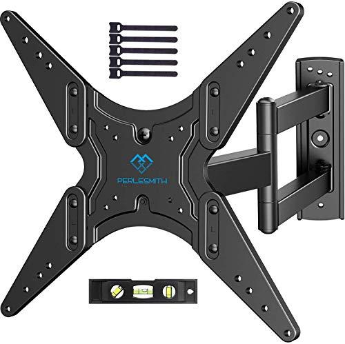Soporte de Pared para TV Giratorio e Inclinable Ajustable - para la Mayoría de Televisores de 26-55 Pulgadas, Máx 40 kg, Máx VESA 400x400 mm