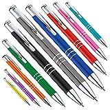 KINGCROWN 400 - Bolígrafo metálico (varios colores, grabado a láser, color violeta, 400)