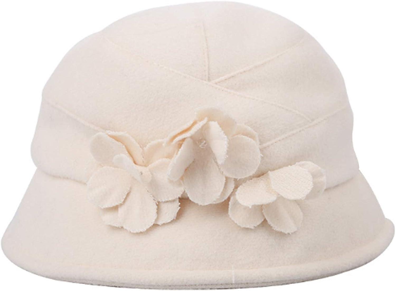 HappyL Hat, Fall Winter New Hat Hairy Ladies Leisure Fishman Hat Tie Cap,Leisure Fashion Cap. (color   Beige, Size   M)