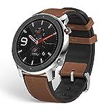 Xiaomi Amazfit GTR Reloj Smartwatch Deportivo | 20 días de batería | AMOLED de 1.39' | GPS + GLONASS | Frecuencia cardíaca Continua de 24 Horas (Andrid 5.0 e iOS 10.0) - Stainless Steel