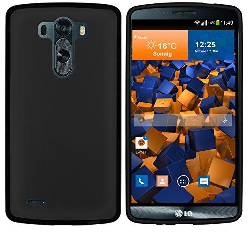 mumbi Hülle kompatibel mit LG G3 Handy Case Handyhülle, schwarz
