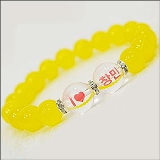 OMAMORI-DO 推しブレス チャンミン・黄色 15cm〜16cm