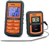 ThermoPro TP-07C Barbacoa, Termómetro Cocina, Negro