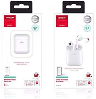 Joyroom JR-T03S TWS True Wireless Stereo Bluetooth 5.5 Version Headsets Two Headphones With Wireless Charging Battery Box Auto Pair Support Siri