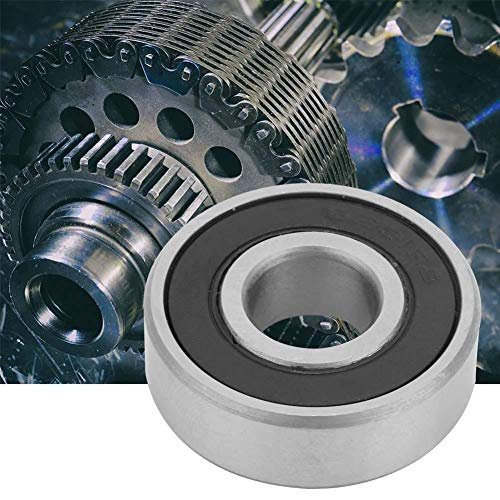 【𝐄𝐚𝐬𝐭𝐞𝐫 𝐏𝐫𝐨𝐦𝐨𝐭𝐢𝐨𝐧】 Deep Groove Ball Bearing, 10Pcs 6201-RS Ball Bearings, Fit for Skateboard Bearings, Rolling Bearings, 3D Printer Wheel, Skates,12mm