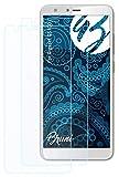 Bruni Schutzfolie kompatibel mit Gigaset GS100 Folie, glasklare Bildschirmschutzfolie (2X)