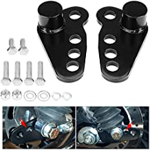 Motobiker 02-16 Harley Davidson Touring Street Glide Rear Adjustable Slam Lowering Kit 1-3 inches 02 03 04 05 06 07 08 09 10 11 12 13 14 15 16 (Fits 2002 - 2016 Harley/Davidson Touring Models)
