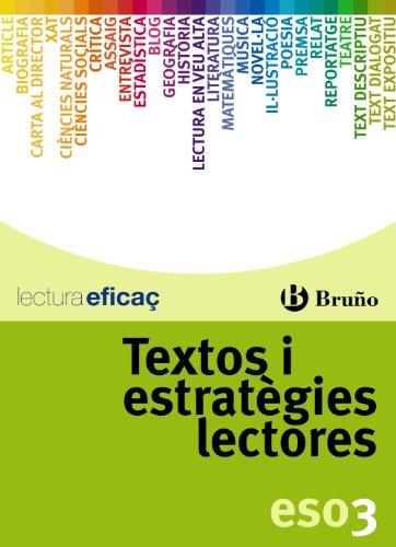 Textos i estratègies lectores 3r ESO (Català - Material Complementari - Textos I Estratègies Lectores) - 9788421677254
