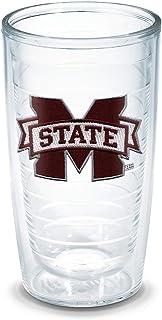 Tervis Mississippi State University Emblem Individual Tumbler, 16 oz, Clear
