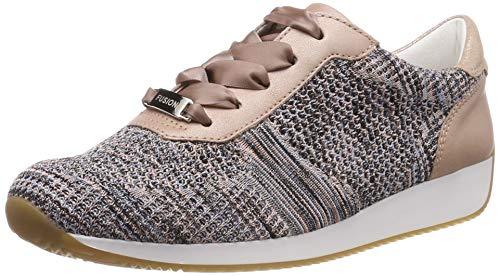 ARA Damen LISSABON 1234027 Sneaker, Beige (Puder-Multi, Puder 35), 40 EU