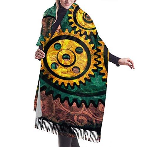 Vestidos Accesorios, tapicería, Bufanda con Flecos, Manta, Equipo Steampunk, largas, Grandes, cálidas, Bufandas, Abrigo, Pashmina, Chal, Estola