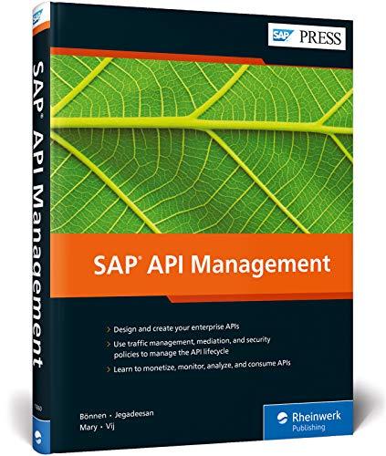 SAP API Management (SAP PRESS: englisch)