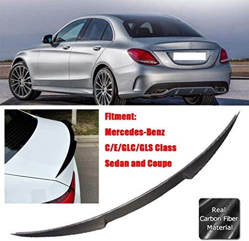 QIXI Cs Style Heckspoiler Aus Kohlefaser Hinten Für Mercedes-Benz C/E/Glc/Gls/Gle-Klasse W205 W211 W212 W213 W204 W207 W218 W292 W253 (Farbe, E-Klasse W212 2010-2015), CLS-Klasse W218 2.