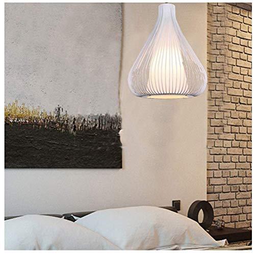 Kroonluchter, vintage birdcage hanglamp creatieve verlichting smeedijzer kroonluchter European restaurant draad plafondlamp lampen (kleur: zwart)