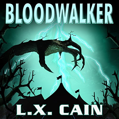 Bloodwalker audiobook cover art