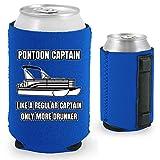 Pontoon Captain Magnetic Can Coolie (Royal Blue, 1)