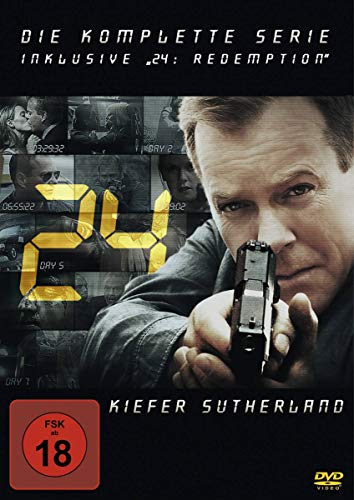 "Produktbild von 24 - The Complete Collection inklusive ""24: Redemption"" (49 Discs)"