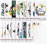 Larcenciel - 20 stencil di carta per quilling + 10 fogli in PVC, formato A4, motivo a filigrana, decorazione da parete in filigrana