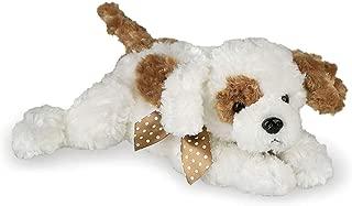 Bearington Scout Plush Stuffed Animal Brown and White Puppy Dog 14