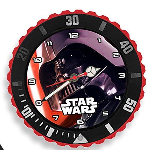 Kids Licensing–SW14043–Star Wars VII–4in 1 Geschenk-Setmit Armbanduhr,Spardose,Wecker und Bilderrahmen, Motiv Darth Vader