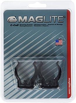 Maglite - ASXCAT6U - Crochets de fixation pour lampe - Noir