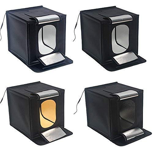 Protastic - Kit de iluminación para Estudio de 40 x 40 cm, Mini ...