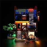 Bybo Juego de iluminación LED para Lego Idea Medieval Blacksmith 21325, juego de iluminación compatible con Lego 21325, sin set Lego