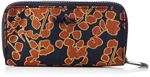 Kipling K14298 Damen Geldbörsen 10x18.5x3.5 cm (B x H x T), Mehrfarbig (18Y Floral Metallic)