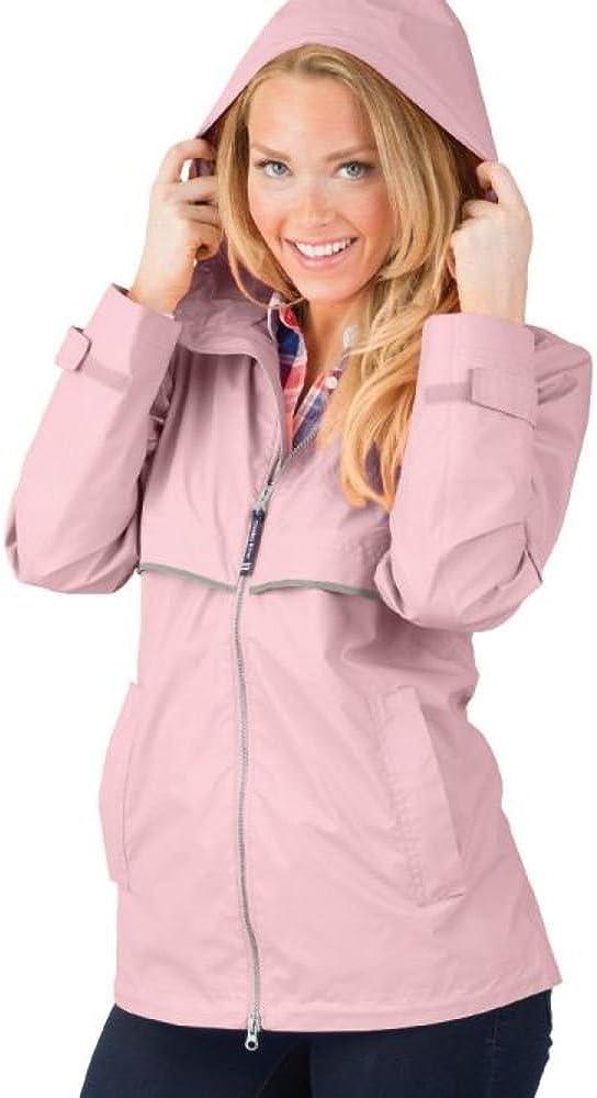 Charles River Apparel Women's New Englander Wind & Waterproof Rain Jacket (Reg/Ext Sizes)