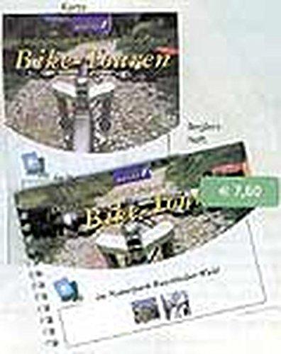 Mountainbikeführer und -karte in einer Mappe /20 Mountainbiketouren im Landkreis Deggendorf - BMW-Bikepark Geisskopf - Landkreis Regen: 1:42500