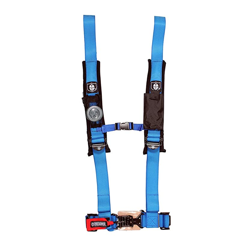 Pro Armor A114220VB Voodoo Blue 4-Point Harness 2