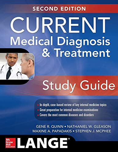 CURRENT Medical Diagnosis and Treatment Study Guide, 2E (Lange Current)